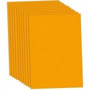 Fotokarton, orange, 50 x 70 cm, 10 Blatt