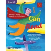 I Can Read - Book A, Orton-Gillingham Based Reading Lessons for Young Students Who Struggle with Reading and May Have Dyslexia, Paperback/Cheryl Orlassino