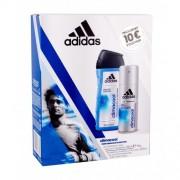 Adidas Climacool 48H set cadou Anti-perspirant 150 ml + Gel de dus 250 ml pentru bărbați