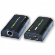 Techly HDMI extender / splitter over IP, up to 120m