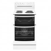 Westinghouse WLE525WB 54cm Freestanding Cooker with Coil Hob and Fan Forced Oven