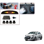 Auto Addict Car Black Reverse Parking Sensor With LED Display For Hyundai Xcent