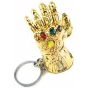 Marvel Avengers Infinity War Thanos Hand Golden Glove Action Figure Keychain