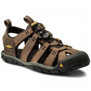 Keen Sandaler KEEN - Clearwater Cnx Leather 1013106 Dark Earth/Black