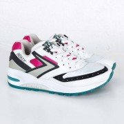 Brooks Beast 1 white/black/pink/aquablue