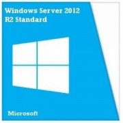 Microsoft Windows Server Standard R2 2012, 64 bit, Engleza, 2 CPU/VM, OEM