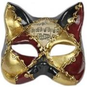 Merkloos Luxueus masker muziek kat