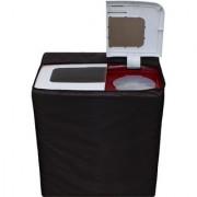 Glassiano Coffee Waterproof Dustproof Washing Machine Cover For semi automatic LG P7556R3FA 6.5 Kg Washing Machine