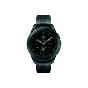 Samsung Galaxy Watch R810 (Bluetooth) 42mm with Tempered Glass Screen Protector - Midnight Black