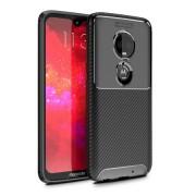 Olixar Carbon Fibre Case For The Motorola Moto G7 Plus (Black, Special Import)