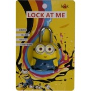 13-HI-13 3 Digit Bag Safty Lock Minions Pack of 1 (Mulitcolor) Safety Lock(Multicolor)