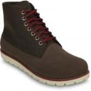 Crocs Cobbler 2.0 Boot M Boots For Men(Brown, Red)
