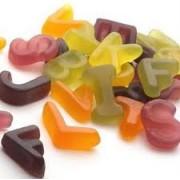 Barratt Alphabet Letters ABC Gummy Sweets