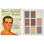 TheBalm Meet Matt(e) Nude Eyeshadow Palette 25,5g Сенки за очи за Жени Палитра с матови сенки за очи
