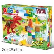 Block Építő Kocka 35 Db-Os