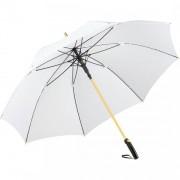 FARE®-Precious duży biały parasol ze złotymi elementami