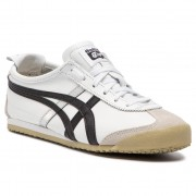 Asics Sneakersy ASICS - ONITSUKA TIGER Mexico 66 DL408 White/Black 0190