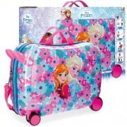 Disney Frozen Flowers 4-kerekes gyermekbőrönd