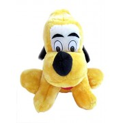 Tickles Yellow Smiling Dog Stuffed Soft Plush Toy For Kids Girl 22 cm