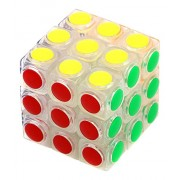 Little Treasure Modern Design Puzzle Cube Game with Cool New Clear Cube Tiles that Make it Easier for Kids to Play with