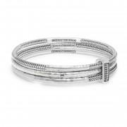 Buddha to Buddha 925 Sterling Zilveren Refined Dunia Armbanden Set 318-S (Lengte: 18.00 cm)