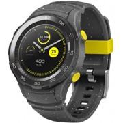 "Smartwatch Huawei Watch W2 Concrete Grey Sport Strap, Procesor 1.1GHz, Amoled 1.2"", 768MB RAM, 4GB Flash, Bluetooth (Gri)"