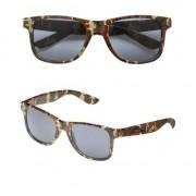 Merkloos Camouflage zonnebril