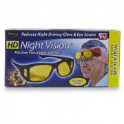 HD Wrap Around Glasses In Yellow Color Glasses Real Night Driving Glasses Pack Of 1 VIPWORLD