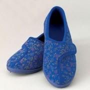 Homecraft Chaussons velcro pour femme
