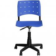 Cadeira de Escritório Iso Giratória Azul - Pethiflex