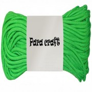 250ft 550 Cord Paracord Parachute Survival Cord - Fluroscent Green