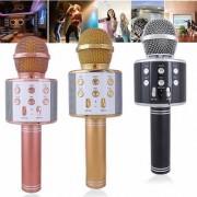 Wireless Karaoke Mic Microphone with portable Bluetooth Speaker