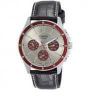 Casio Enticer Analog Grey Dial Men's Watch - MTP-1374L-7A1VDF (A955)