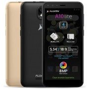 "Telefon mobil Allview A10 Lite 2019, Procesor Quad-Core 1.3 GHz, LCD Capacitive touchscreen 5.34"", 1GB RAM, 8GB FLASH, 8MP, Wi-Fi, 3G, Dual Sim, Android (Negru) + Cartela SIM Orange PrePay, 6 euro credit, 6 GB internet 4G, 2,000 minute nationale si intern"