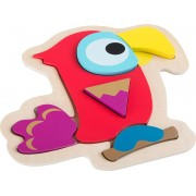 Puzzle papoušek