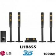 LG LHB655 5.1-es Smart 3D Blu-ray házimozi rendszer 1000W