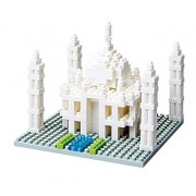 Nano Blocks Taj Mahal, Multi Color