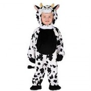 Fun World Cuddly Cow Toddler Costume, One Size, Multicolor