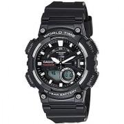 Casio Youth-Combination Analog-Digital Black Dial Mens Watch - AEQ-110W-1AVDF (AD207)