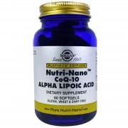 Platinum Edition, Nutri-Nano Coq-10 Acide Alpha-Lipoïque, 60 Softgels -Solgar