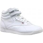 Reebok Freestyle Hi Dames Sneakers - White - 3.5