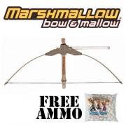 Camo Bow & Mallow Marshmallow Shooter W/ Free Bag Of Ammo