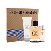 Giorgio Armani Acqua di Gio Absolu confezione regalo eau de parfum 75 ml + eau de parfum 15 ml + doccia gel 75 ml uomo