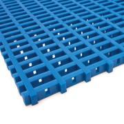 Modrá olejivzdorná protiskluzová průmyslová univerzální rohož - 500 x 120 x 1,2 cm (80000835) FLOMAT