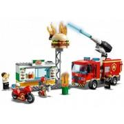 Lego Конструктор Lego City 60214 Fire Пожар в бургер-кафе