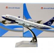 Mongolian Boeing 747 16cm Metal Airplane Models Child Birthday Gift Plane Models Home Decoration