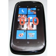 Силиконов гръб ТПУ за Nokia Lumia 610 Черен