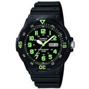 Casio Enticer Analog Black Dial Mens Watch - MRW-200H-3BVDF (A743)
