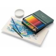 Set creioane colorate Acuarela Albrecht Durer, cutie Studio, 36 culori/set Faber-Castell