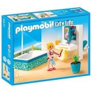 Playmobil A1502743 - Salle De Bain Avec Baignoire